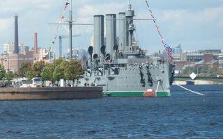 Крейсер Аврора — цікаві факти