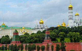 Московський кремль — цікаві факти