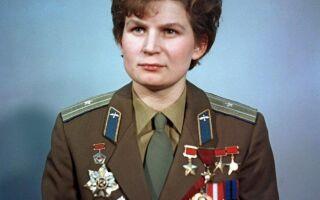 Валентина Терешкова — цікаві факти
