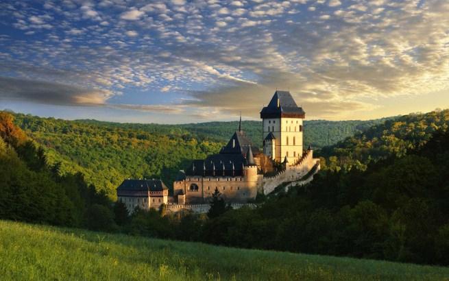 Горный замок