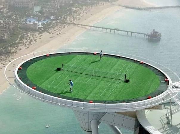 Найвищий тенісний корт