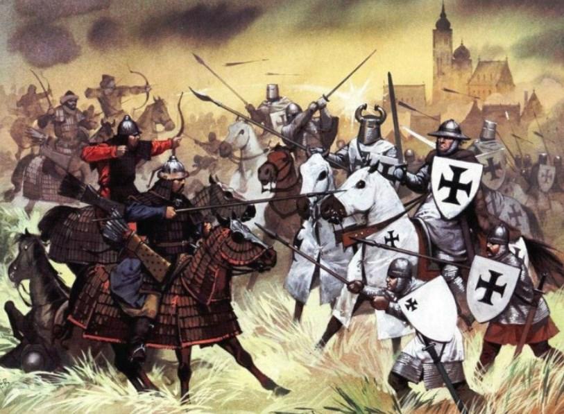 Бій тевтонців з монголами