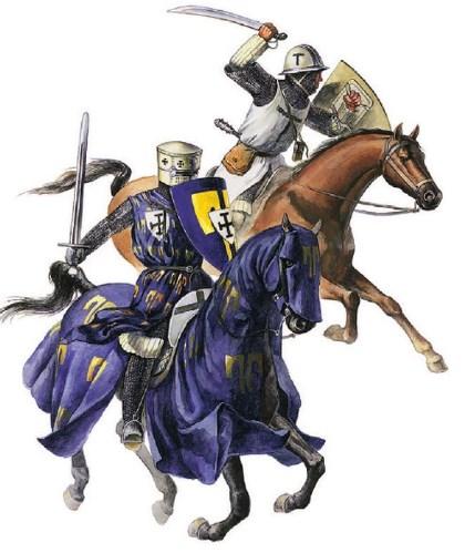 Тевтонський рицар и сержант