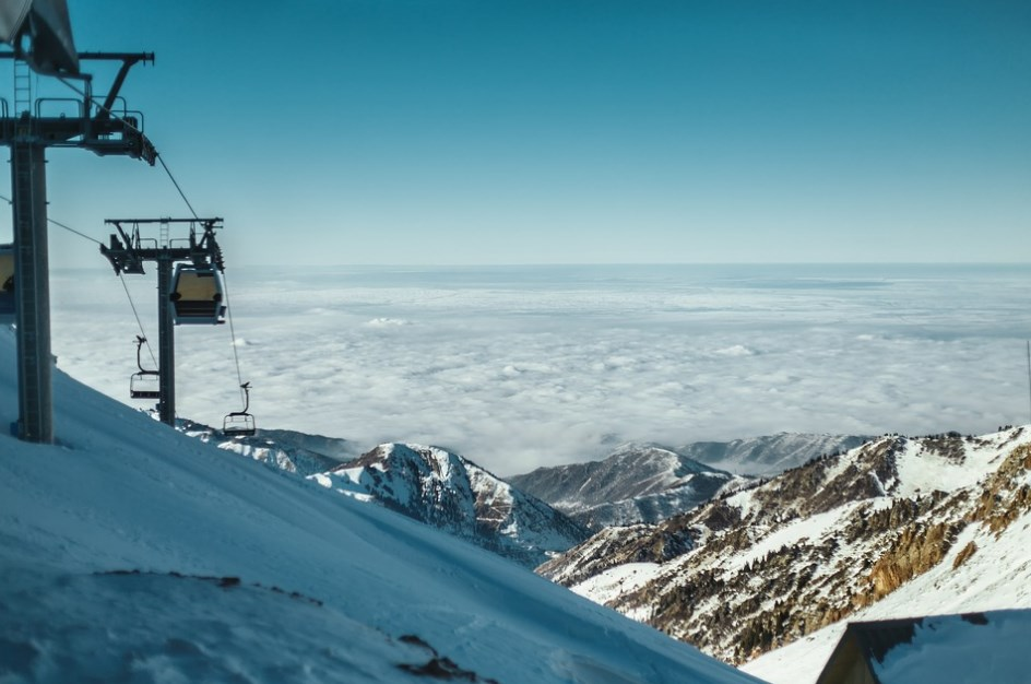 Гірські лижі