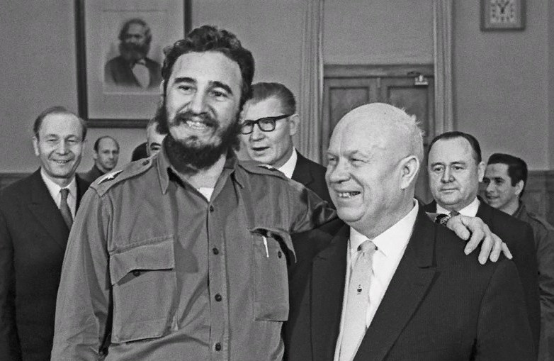 Фідель Кастро і Микита Хрущов